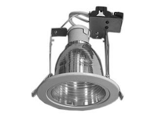 Oprawa downlight z odbłyśnikiem R-3500 satynowy chrom Brilum