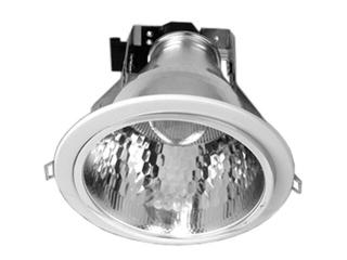 Oprawa downlight z odbłyśnikiem R-6000 satynowy chrom Brilum