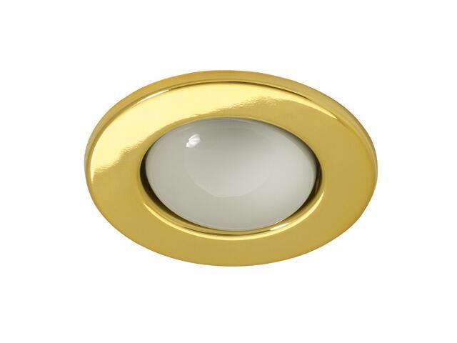 Oprawa punktowa sufitowa RAGO DL-R50-G złota Kanlux