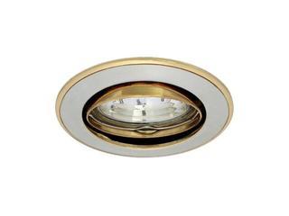 Oprawa punktowa sufitowa PARLE CTC-5519-PS/G perłowa srebrna + złota Kanlux
