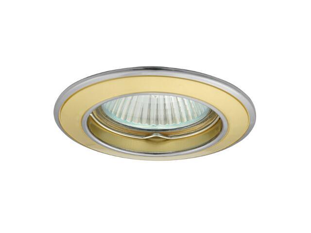 Oprawa punktowa sufitowa BASK CTC-5514-PG/N perłowa złota + nikiel Kanlux