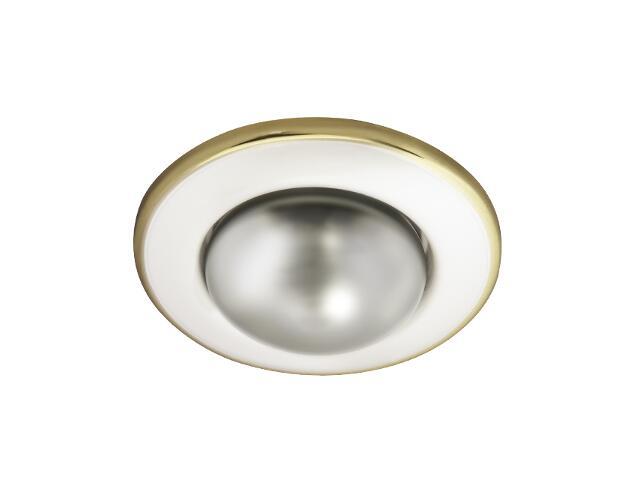 Oprawa punktowa sufitowa BONI DL-RD50-PS/G perłowa srebrna + złota Kanlux
