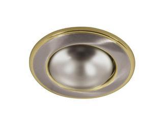 Oprawa punktowa sufitowa BONI DL-RD50-SN/G satynowy nikiel + złota Kanlux
