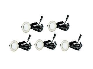 Oprawa punktowa schodowa LED 5x0,25W 12V 5szt. Barlinek