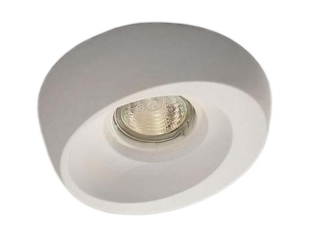 Oprawa punktowa sufitowa OCZKO STROPOWE halogenowe biała 4051 Cleoni