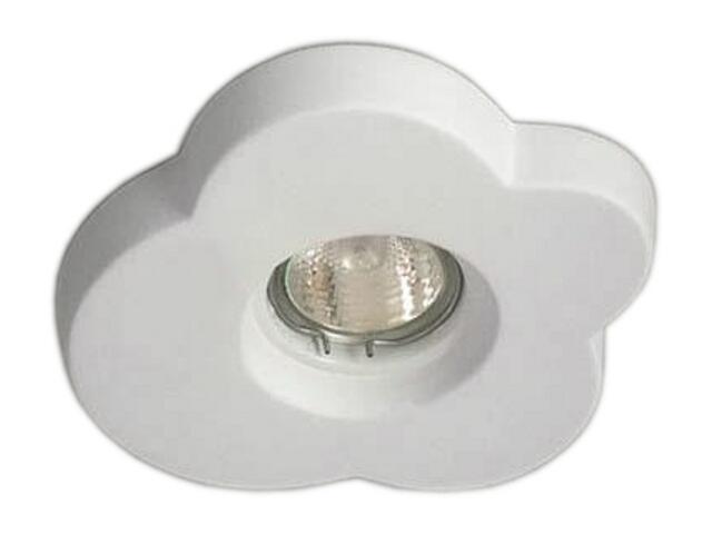 Oprawa punktowa sufitowa OCZKO STROPOWE halogenowe biała 4150 Cleoni