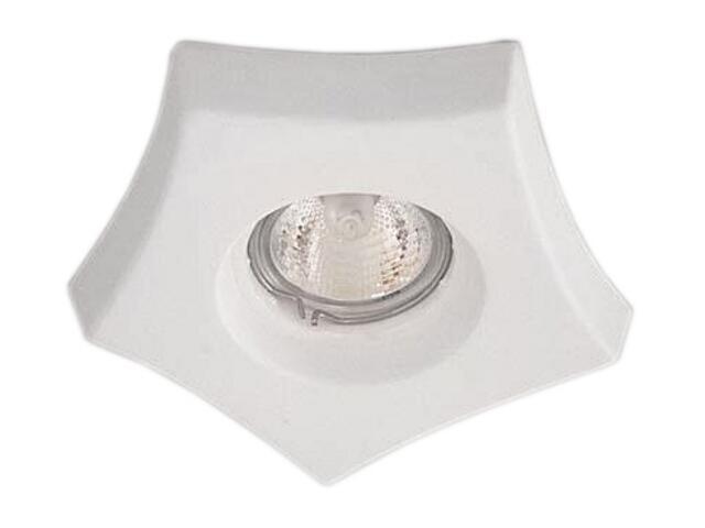 Oprawa punktowa sufitowa OCZKO STROPOWE halogenowe biała 4170 Cleoni