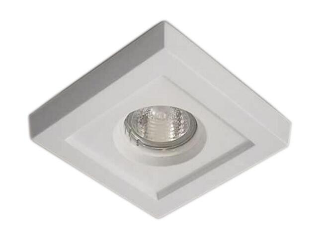 Oprawa punktowa sufitowa OCZKO STROPOWE halogenowe biała 4190 Cleoni