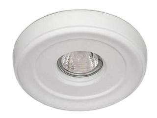 Oprawa punktowa sufitowa OCZKO STROPOWE halogenowe biała 4200 Cleoni