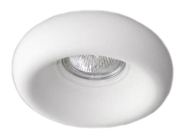 Oprawa punktowa sufitowa OCZKO STROPOWE halogenowe biała 4220 Cleoni