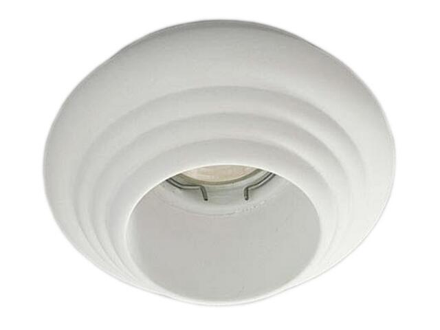 Oprawa punktowa sufitowa OCZKO STROPOWE halogenowe biała 4230 Cleoni