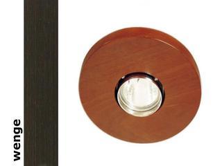 Oprawa punktowa sufitowa OCZKO koło halogenowe wenge 1199O1G204 Cleoni