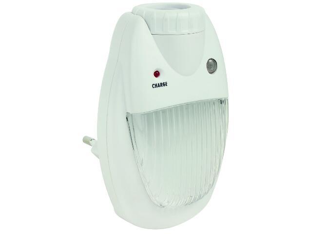 Lampka nocna LED wtykana do gniazdka Plug/latarka 230V biały Paulmann