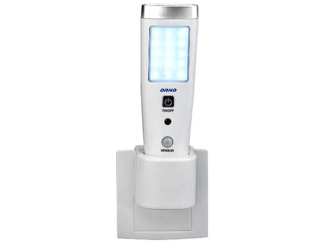 Lampka wtykowa LED z czujnikiem ruchu OR-LA-1402 Orno