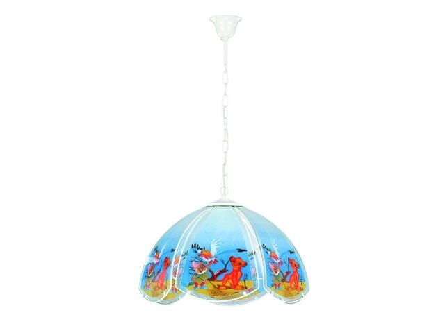Lampa sufitowa dziecięca BAJKA 1xE27 60W 603 Alfa