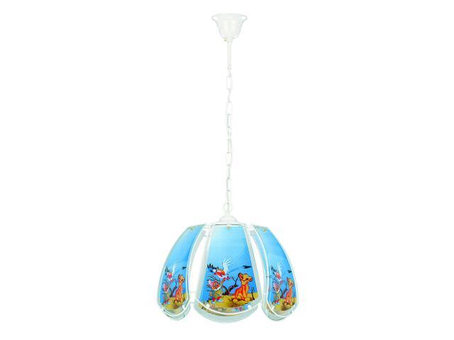 Lampa sufitowa dziecięca BAJKA 1xE27 60W 613 Alfa