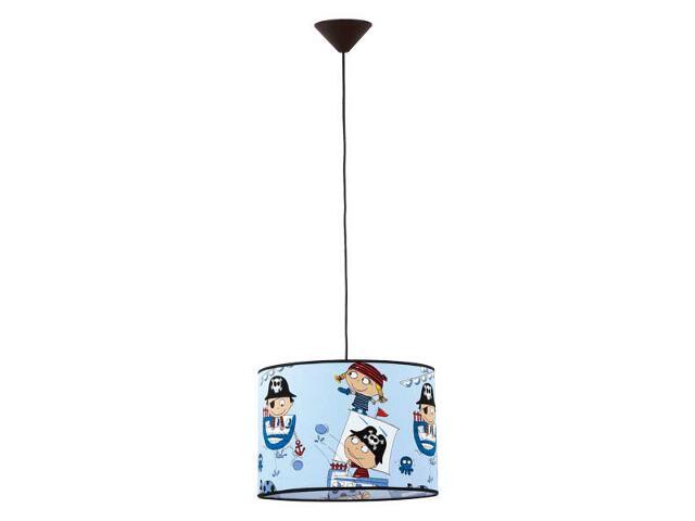 Lampa sufitowa dziecięca Piraci E27 60W 14736 Alfa