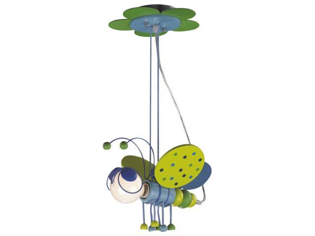 Lampa sufitowa dziecięca Bzyk 1xE27 40W K-MD2008-1B Kaja