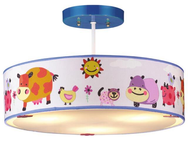 Lampa sufitowa dziecięca Bajka 3xE14 40W K-MD9046-3 Kaja