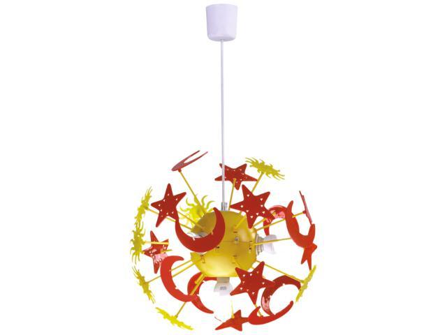 Lampa sufitowa dziecięca Sport 4xE14 40W K-MD7087-4 Kaja