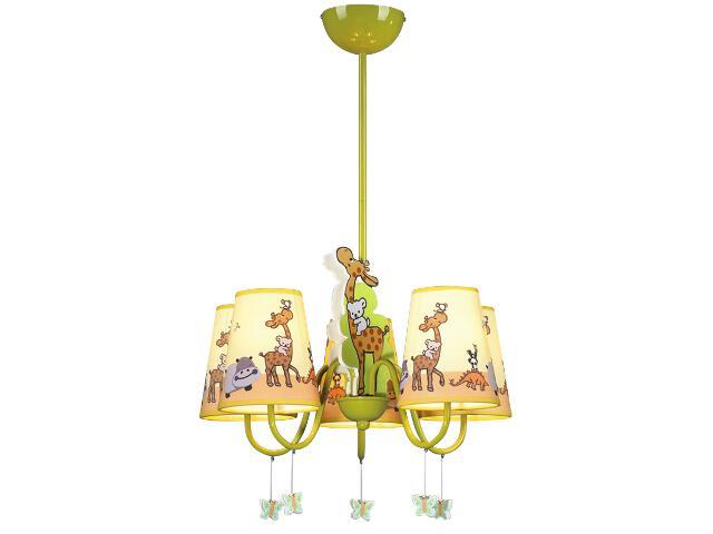 Lampa sufitowa dziecięca Giraf 5xE14 40W K-MD11020-5A Kaja