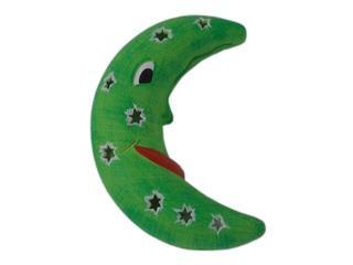 Kinkiet dziecięcy KSIĘŻYC zielony 5414 Cleoni