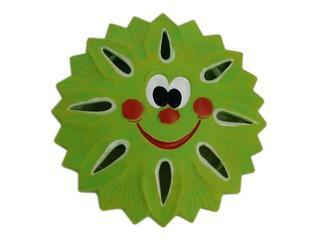 Kinkiet dziecięcy SŁOŃCE zielony 5421 Cleoni