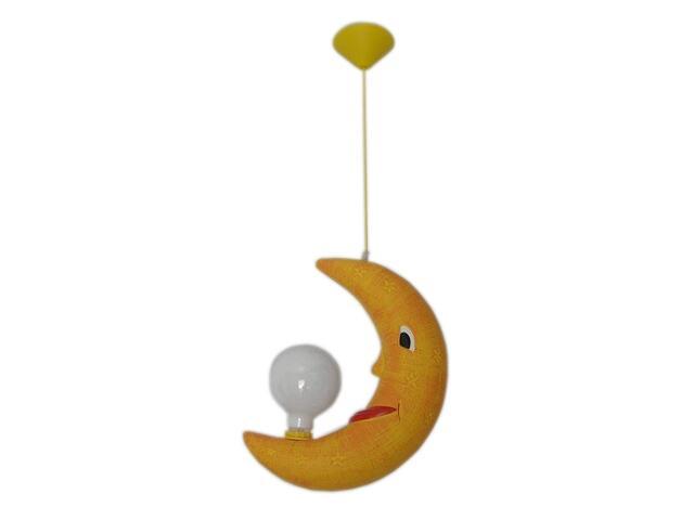 Lampa sufitowa dziecięca ROGAL żółta 5427 Cleoni