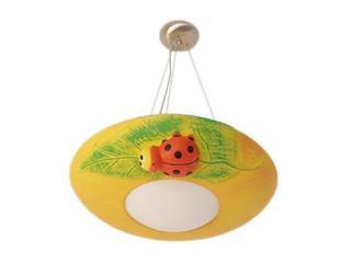 Lampa sufitowa dziecięca MILO biedronka pomarańczowa 5477 Cleoni