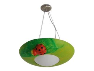 Lampa sufitowa dziecięca MILO biedronka zielona 5478 Cleoni
