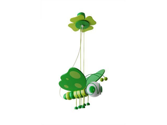 Lampa sufitowa dziecięca Motyl 010503 zielona Klik