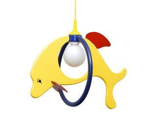 Lampa sufitowa dziecięca Delfin 1 duży 020108 żółto-granatowa Klik