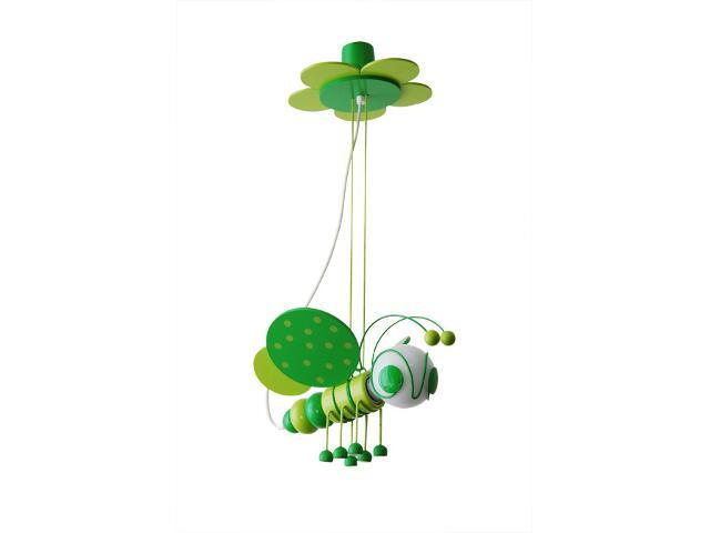 Lampa sufitowa dziecięca Pszczółka 010303 zielona Klik
