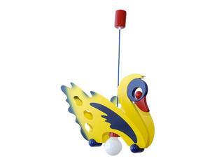 Lampa sufitowa dziecięca Łabędź 010701 żółto-niebieska Klik
