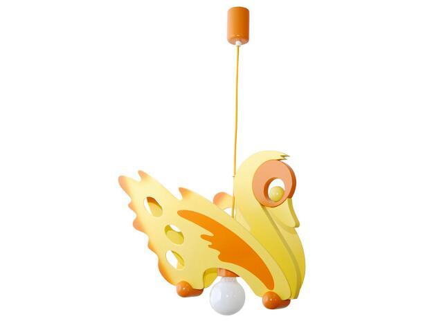Lampa sufitowa dziecięca Łabędź 010708 żółto-pomarańczowa Klik