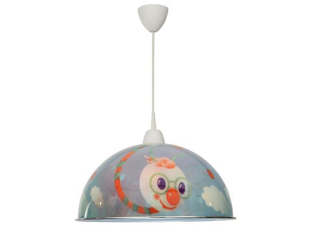 Lampa sufitowa dziecięca Wurmi 1xE14 40W 50051 Reality