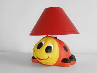 Lampa dziecięca stojąca BIEDRONKA leżąca 5433 Cleoni
