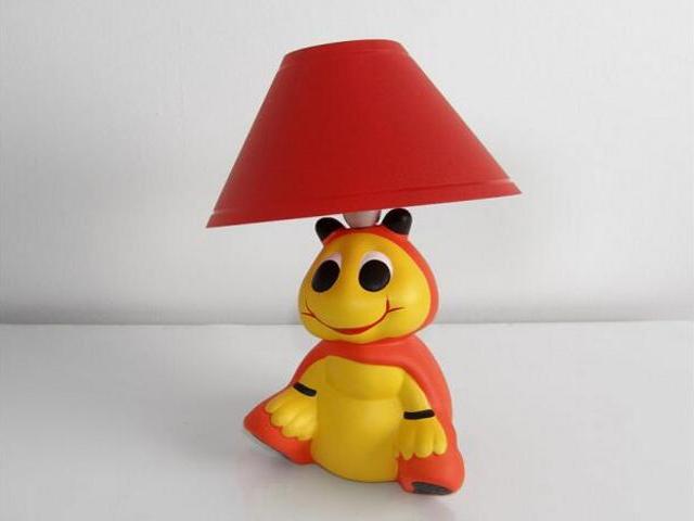 Lampa dziecięca stojąca BIEDRONKA siedząca 5434 Cleoni