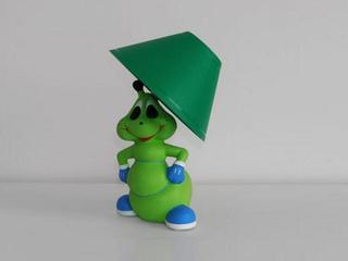 Lampa dziecięca stojąca MRÓWKA zielona 5437 Cleoni