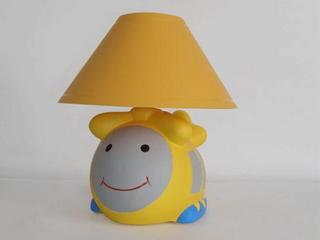 Lampa dziecięca stojąca HELIKOPTER żółty abażur 5450 Cleoni