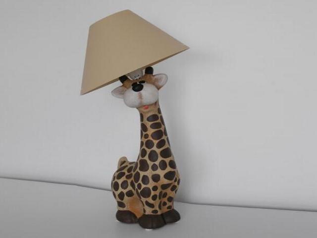 Lampa dziecięca stojąca ŻYRAFA 5455 Cleoni