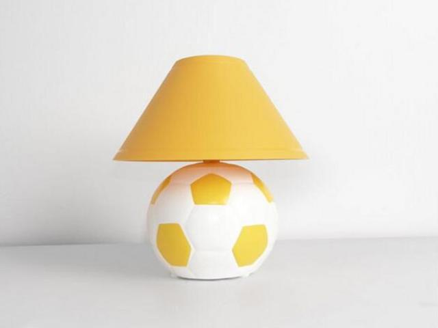 Lampa dziecięca stojąca PIŁKA żółta 5460 Cleoni