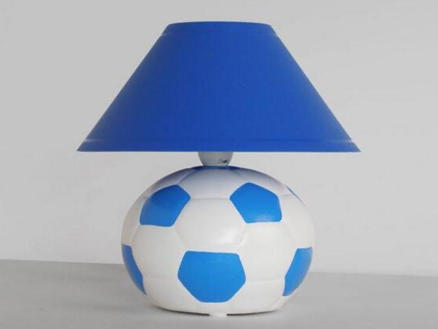 Lampa dziecięca stojąca PIŁKA niebieska 5461 Cleoni