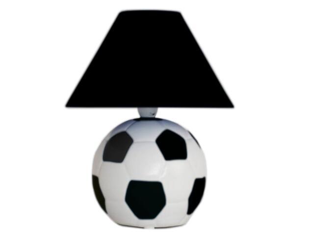 Lampa dziecięca stojąca PIŁKA czarna 5462 Cleoni