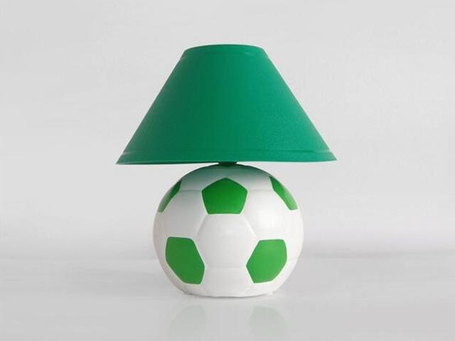 Lampa dziecięca stojąca PIŁKA zielona 5463 Cleoni