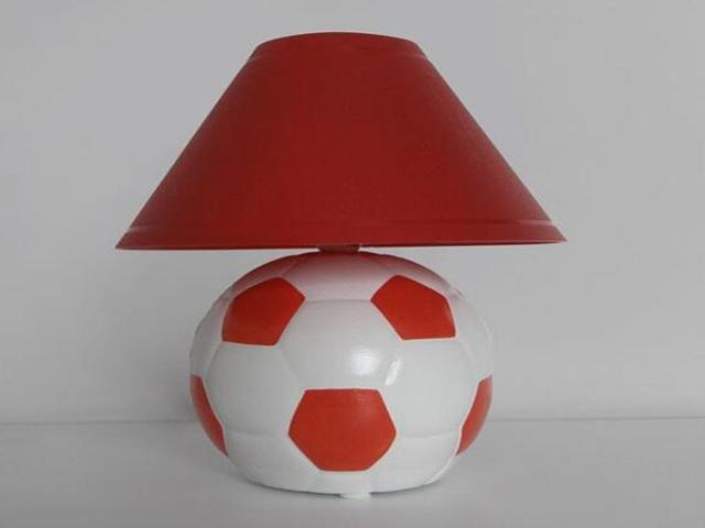 Lampa dziecięca stojąca PIŁKA czerwona 5464 Cleoni