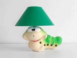 Lampa dziecięca stojąca ROBAL zielony 5465 Cleoni