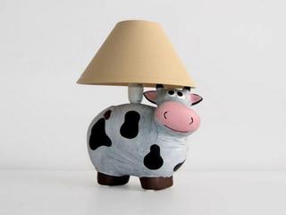 Lampa dziecięca stojąca KRÓWKA 5472 Cleoni