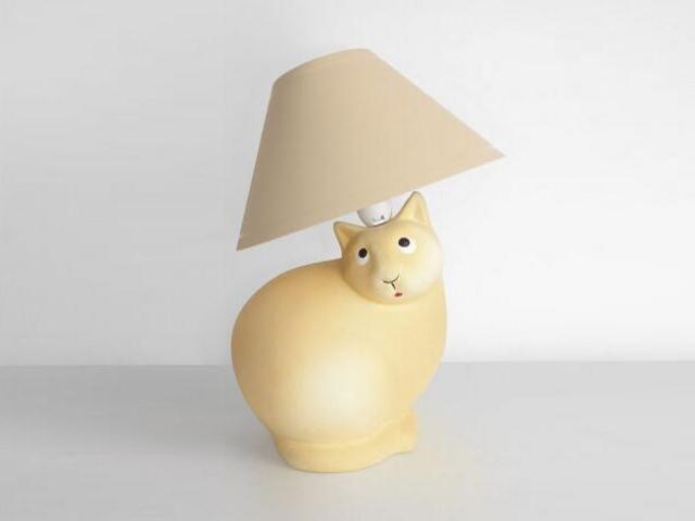 Lampa dziecięca stojąca KOTEK gładki 5473 Cleoni