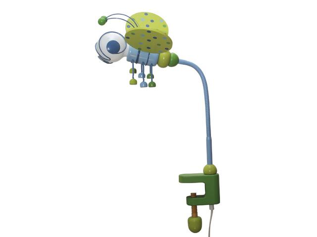 Lampa dziecięca stojąca Pszczółka klema 030301 zielono-niebieska Klik